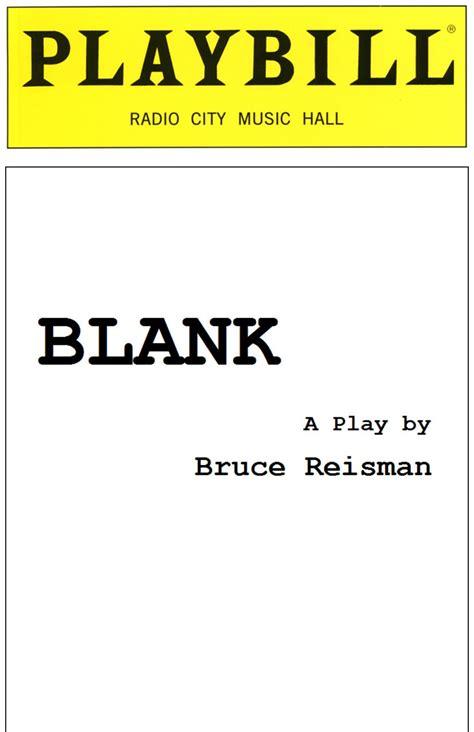 Blank Playbill Cover Blank Playbill Template Corrzoodicsu50s Soup Sle Creative Pinterest Playbill Template Docs