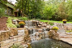 Ground Decks Patios 50 Pictures Of Backyard Garden Waterfalls Ideas Amp Designs