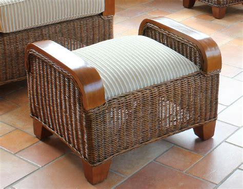 Rattan Foot Stool by Sofa Rattan Footstools Ideas Rattan Footstools For