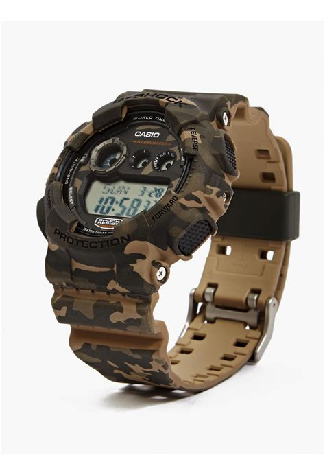 Casio G Shock Gd 120 Brown Army g shock s brown camouflage gd 120cm 4er in