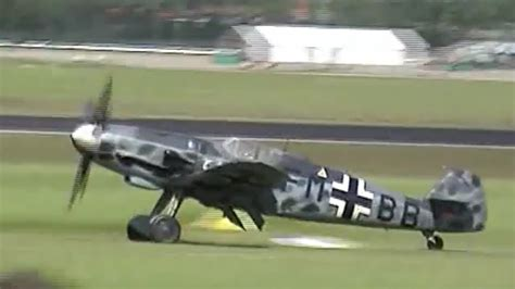 messerschmitt bf 109 g6 awesome sound youtube