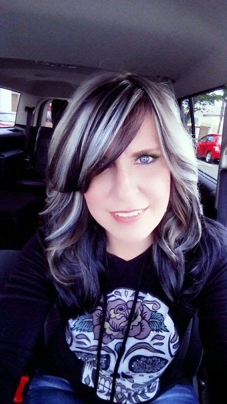 highlights to transition to grey hair the 25 best gray hair transition ideas on pinterest