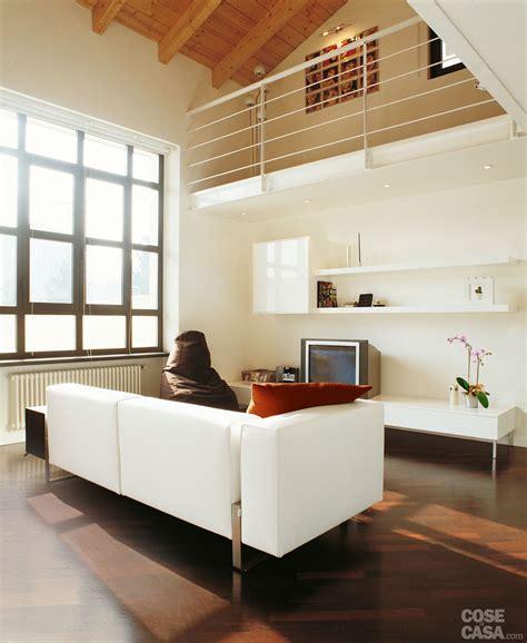 altezza ringhiera una casa a doppia altezza con soppalco di 70 mq soppalco
