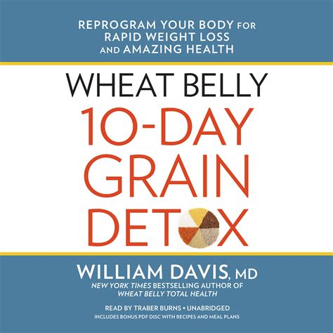 Wheat Belly 10 Day Detox Food List by Wheat Belly 10 Day Grain Detox Audiobook Listen Instantly
