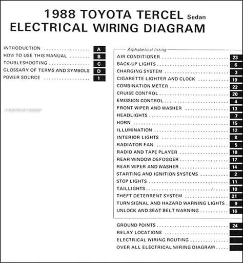 service manual pdf 1993 toyota tercel electrical wiring