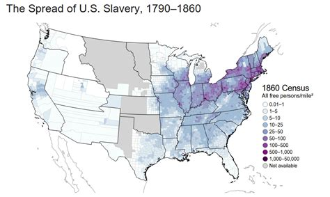population map use our interactive map to figure out how mapping the spread of american slavery lincoln mullen s blog
