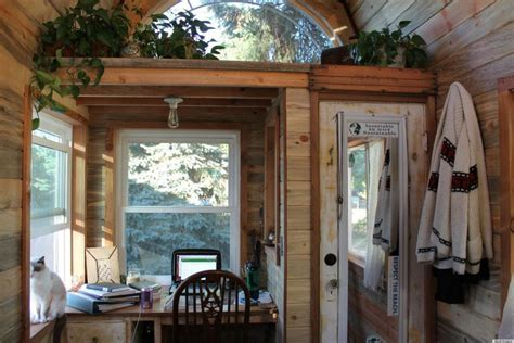 Tiny House Tour by House Tour April Anson S 120 Square Foot Home Is A