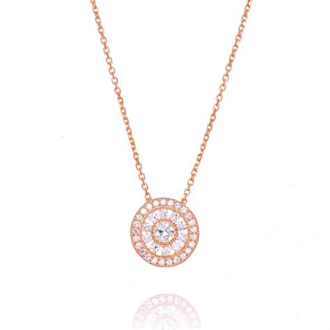jewelry uk ingenious gold antique circle drop necklace