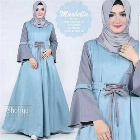 Baju Gamis Wanita Busana Muslim Wanita Terbaru Fft 3 jual model baju muslim gamis terbaru dan modern ld