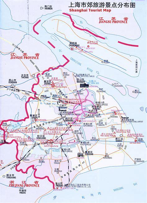 shanghai map shanghai tourist map shanghai mappery