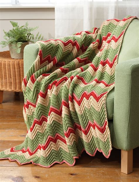 easy zig zag afghan pattern creatys free crochet pattern and images