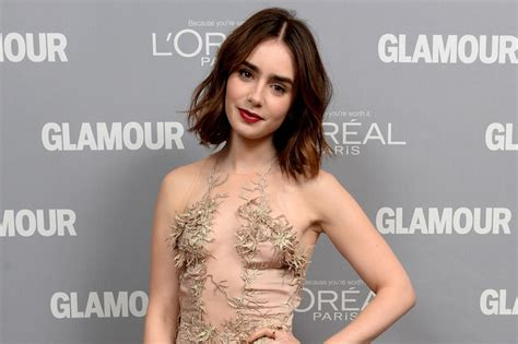 How To Get Wavy Hair Like Lily Collins