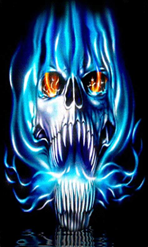 Home Design 3d Free Apk by Free Blue Flame Skull Lwp Apk Download For Android Getjar