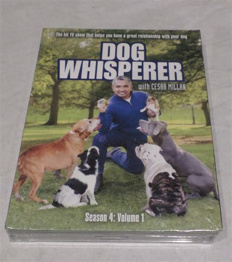 whisperer with cesar millan whisperer with cesar millan season 4 vol 1 fourth season volume one dvd new