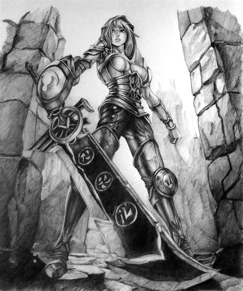 redeemed riven league of legends by verdeimparat on deviantart