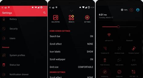 black themes for android free download 3 best looking cm12 themes android lollipop material design