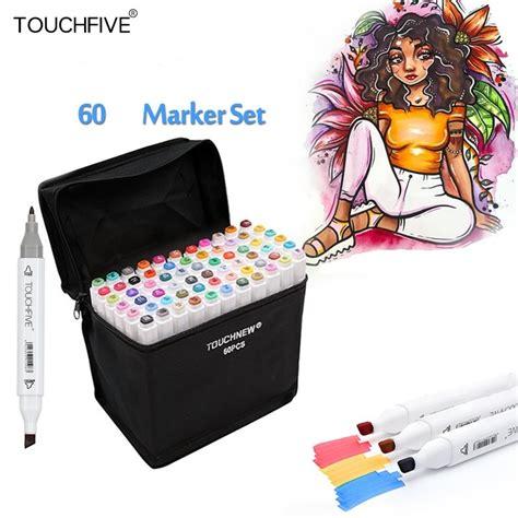 Touch Five Marker touch five marker 60 pen interior design colors set