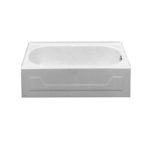 american standard huron bathtub american standard 0133 017 huron 46 1 2 quot x 27 quot x 15 1 2 quot three wall alcove bathtub