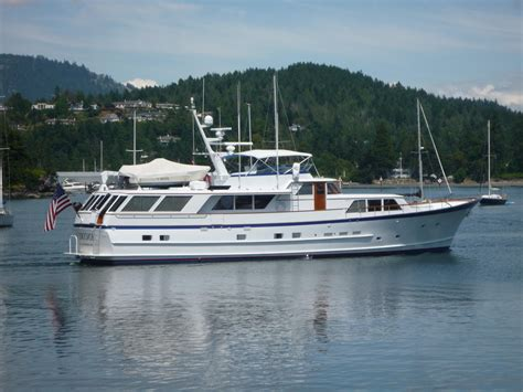used boats yacht 1986 burger motor yacht power boat for sale www