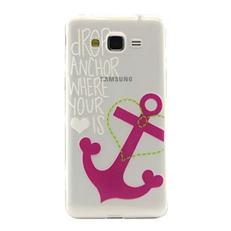 for samsung galaxy transparent pattern back
