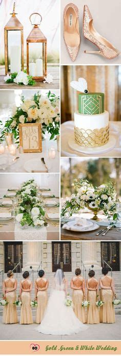 24 best green gold weddings images wedding