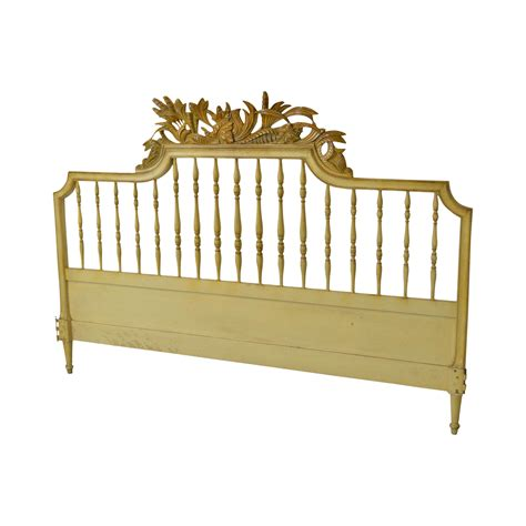 vintage king size headboards vintage french provincial louis xv style painted king size