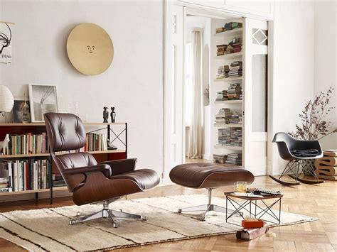 Ottoman Eames by Eames Lounge Chair Ottoman Sessel Vitra Einrichten