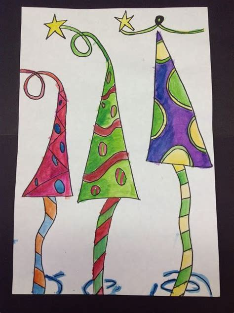 christmas art for 4th graders christmas art ideas for