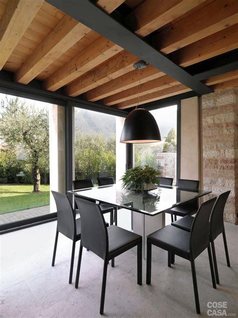 nella casa legno e pietra a vista nella casa restaurata cose di casa