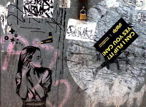 street art stencils   quick getaway   painterly