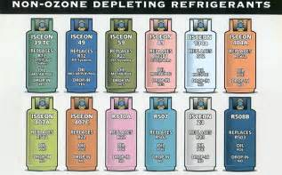 About Freon . There are two types of this refrigerant available for