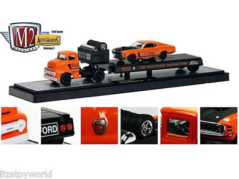 M2 Auto Haulers 1956 Ford C 500 Coe Shelby Cobra Trailer 17 best images about diecast cars for logan on