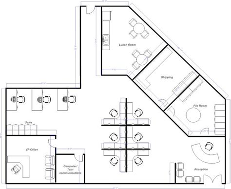 open office floor plan open office layout pinteres