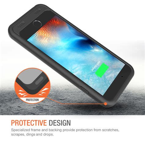 atomic  battery case  iphone    inche black