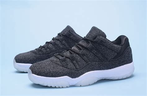 new releases sneakers 2017 new release air 11 low wool grey white