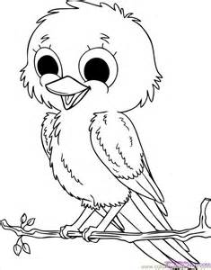coloring pages how to draw baby birds step 8 animals
