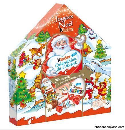 Calendrier Kinder Carrefour Calendrier De L Avent Kinder 2015 Moins Cher Auchan