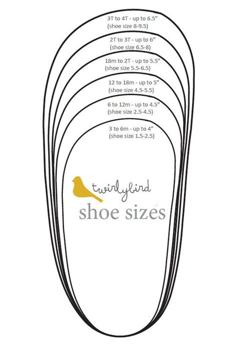 shoe size template printable uk best 20 baby shoes pattern ideas on bb shoes