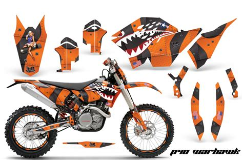 Decal 250 Fi 07 Orange Sticker Striping 2007 2010 sx 2008 2010 exc ex ktm motocross graphic decal