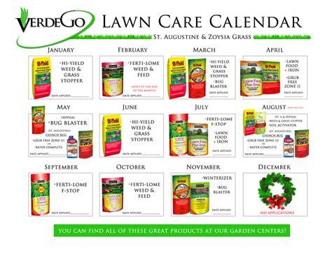 Care Calendar St Augustine Grass Zoysia Grass Bahia Grass Florida