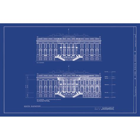 white house blueprints the white house old blueprints touch of modern