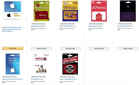 Itunes Electronic Gift Card Amazon - expired gift card deals on amazon itunes jcpenney petco applebee s steak n