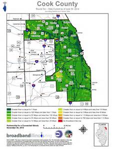 Chicago County Map by Cook County Bing Images