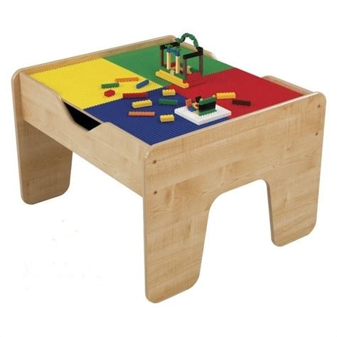 Kidkraft Lego Table With Stools by Kidkraft 2 In 1 Activity Table With Lego And Set In