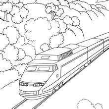 coloring page bullet train high speed coloring pages hellokids com