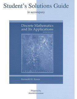 Discrete Mathematics And Its Applications Student