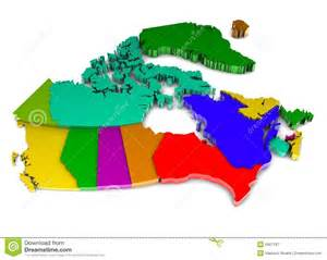 map of canada colored canada map royalty free stock photography image 8567187