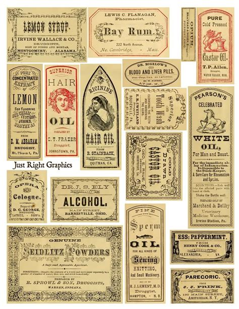 printable apothecary labels 10 best images of apothecary label template free