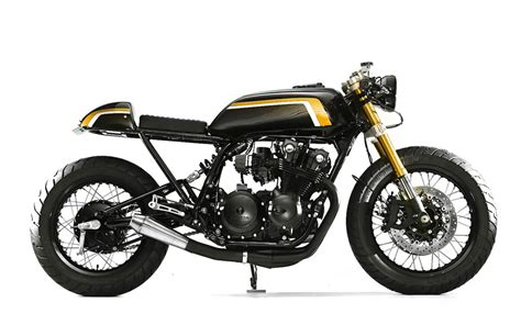 my motorcycles news honda cb750 caf 233 racer by whitehouse cb750 caf 233 racer by steel bent customs bikebrewers