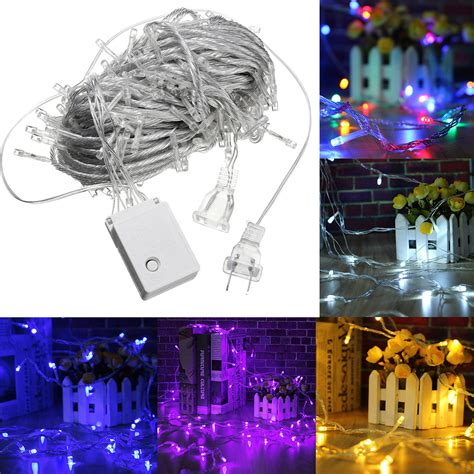 ac110v 20m 200led waterproof fairy string light christmas